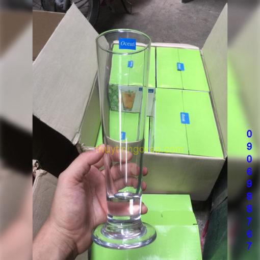 Ly Bia ViVa Footed 420ml Thủy Tinh Gò Vấp