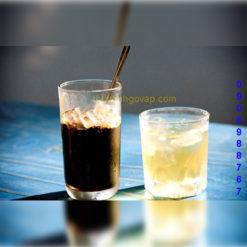 Ly Cafe Đáy Bầu Lỡ 280ml tại Thủy Tinh Gò Vấp