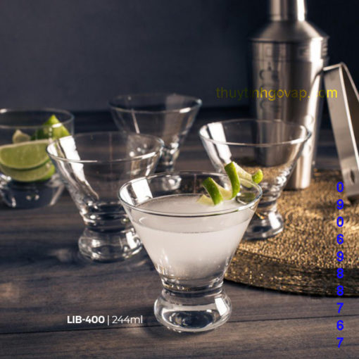 Ly Libbey Cosmopolitan Glasses 244ml