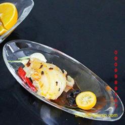 Ly kem thuyền Delight Banana Split Dish nhiều màu sắc . đậm đà hương vị không chứa đủ, muốn thành công thì ly đựng kem phải chất