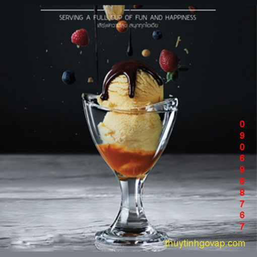 Ly kem Delight Sundae Cup 165ml