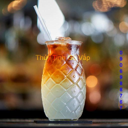 Ly thủy tinh Libbey Tiki Pineapple 503ml (Hộp 6 cái)