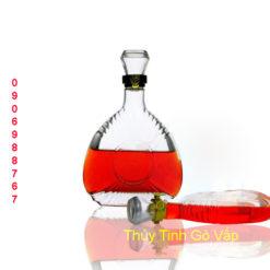 Bình thủy tinh dùng chiết rượu 750ml thủy tinh quận 10