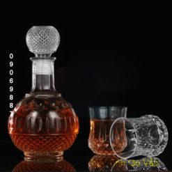 Bình đựng rượu thủy tinh cao cấp 750ml – BR9 thủy tinh tân phú