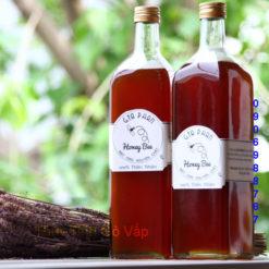chai thủy tinh vuông đựng mật ong nắp nhôm 1000ml chai lọ giá rẻ ở sài gòn