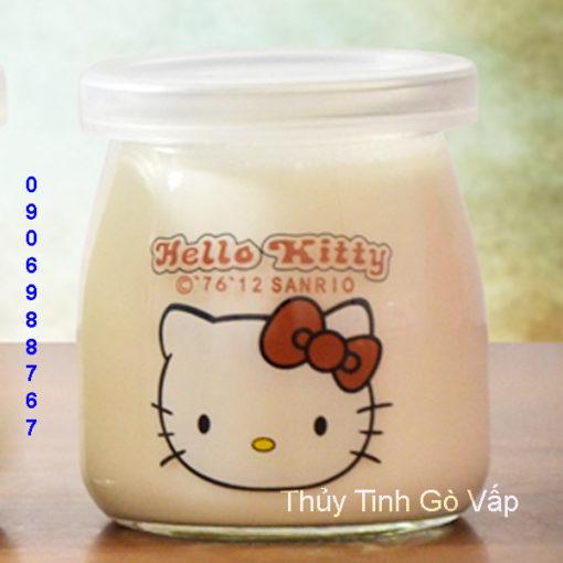 hũ sữa chua nắp nhựa 200ml chai lọ thực phẩm giá rẻ ở gò vấp