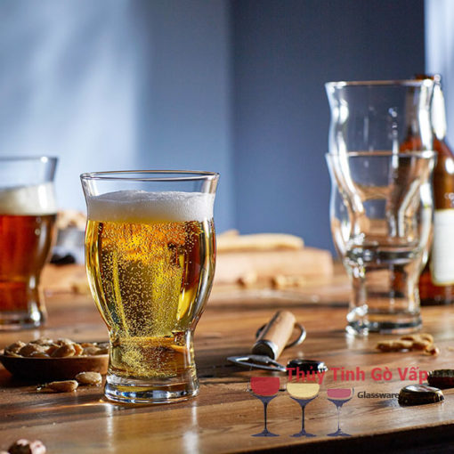 ly thủy tinh nhập khẩu giá rẻ libbey stack crafl beer 421ml ở sài gòn