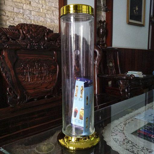 Mua bình thủy tinh 4.8 lít hình trụ ngâm rượu giá rẻ ở đâu tại sài gòn